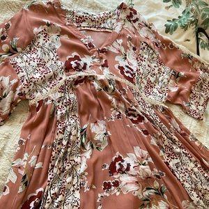 Umgee Bohemian Tunic Dress